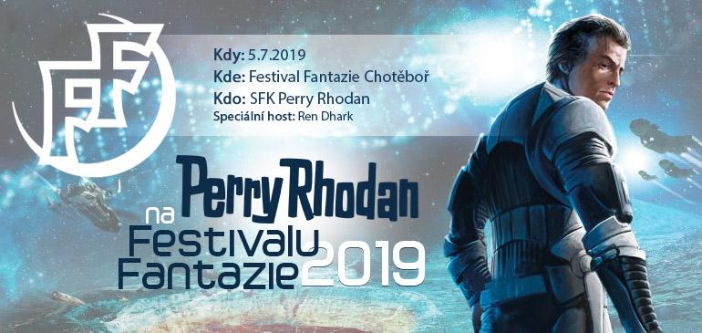 SFK Perry Rhodan na Festivalu Fantazie 2019