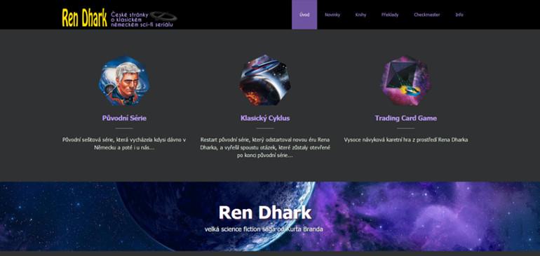 Nový web o Renu Dharkovi